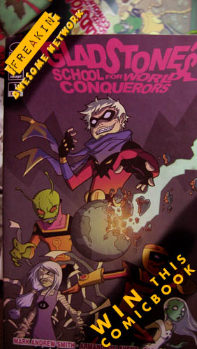 WIN THIS COMICBOOK
