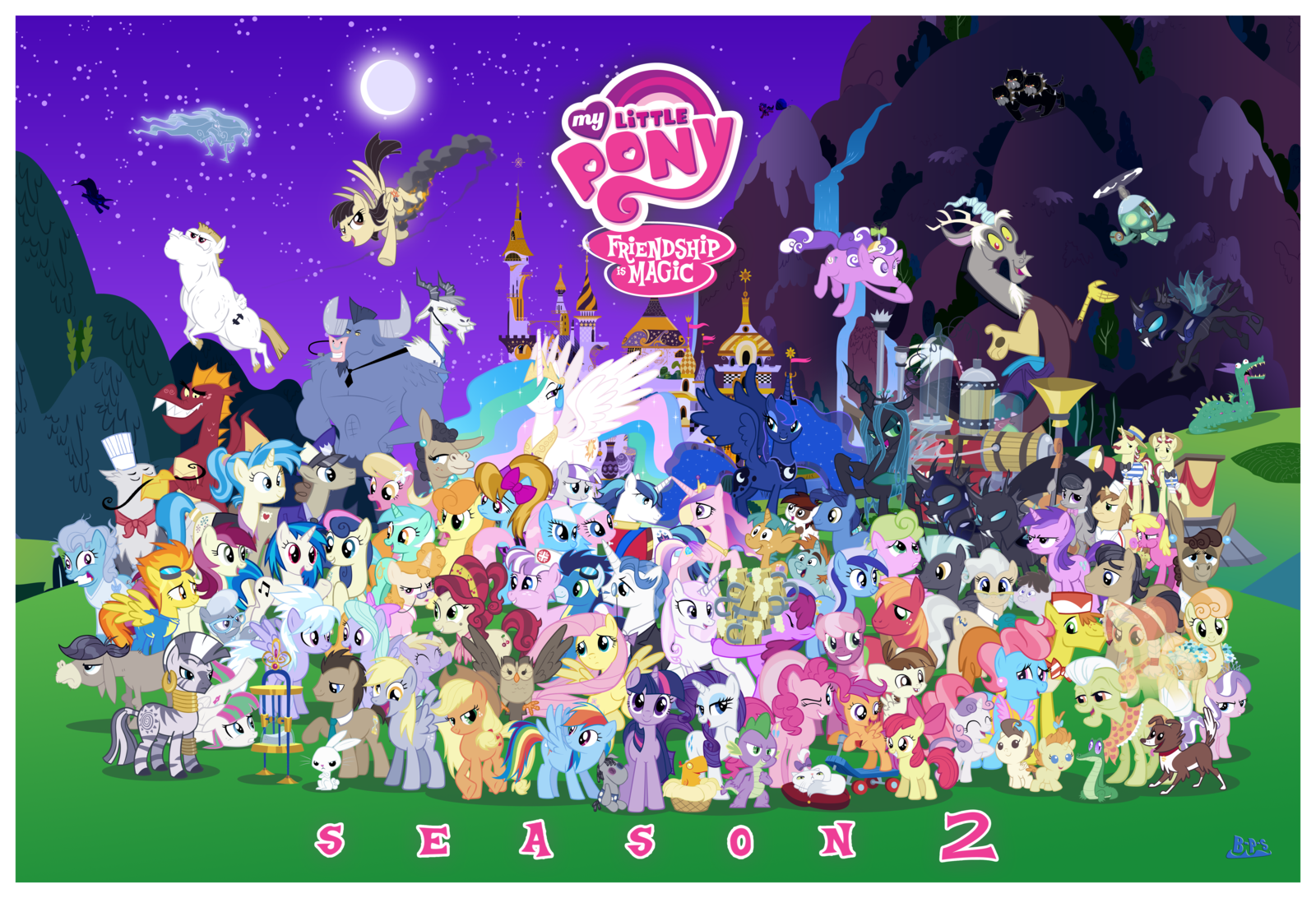 My little pony characters list with pictures.