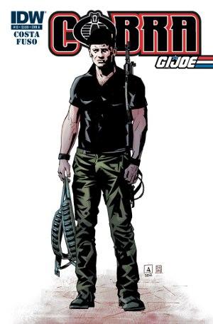 Cobra #13 Cover A featuring Flint