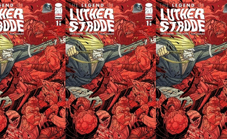 legend of luther strode cover