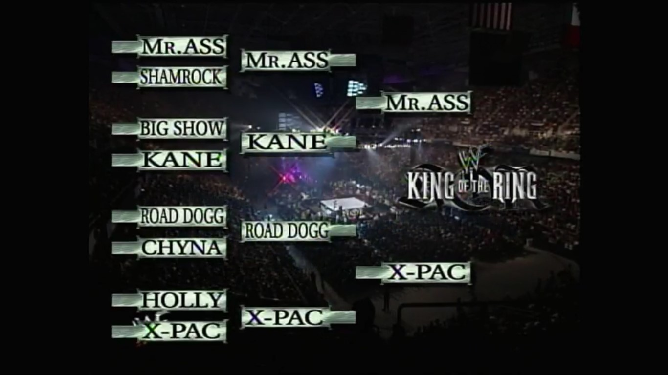 King of the Ring brackets 2