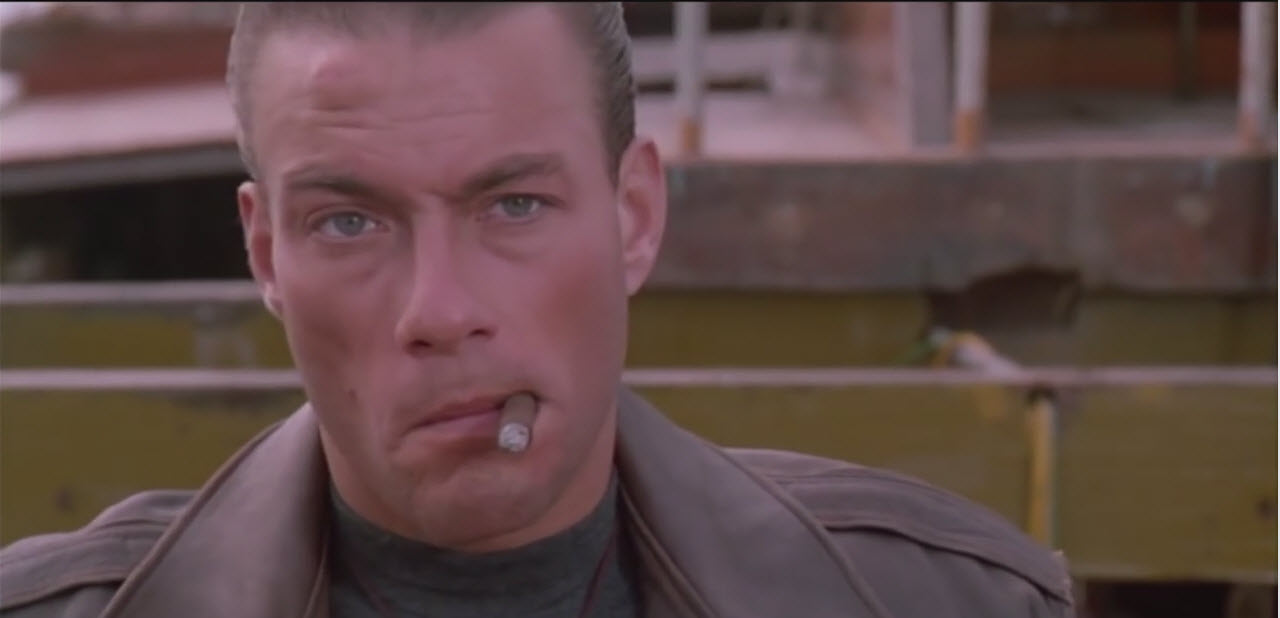 van damme as alex in double impact