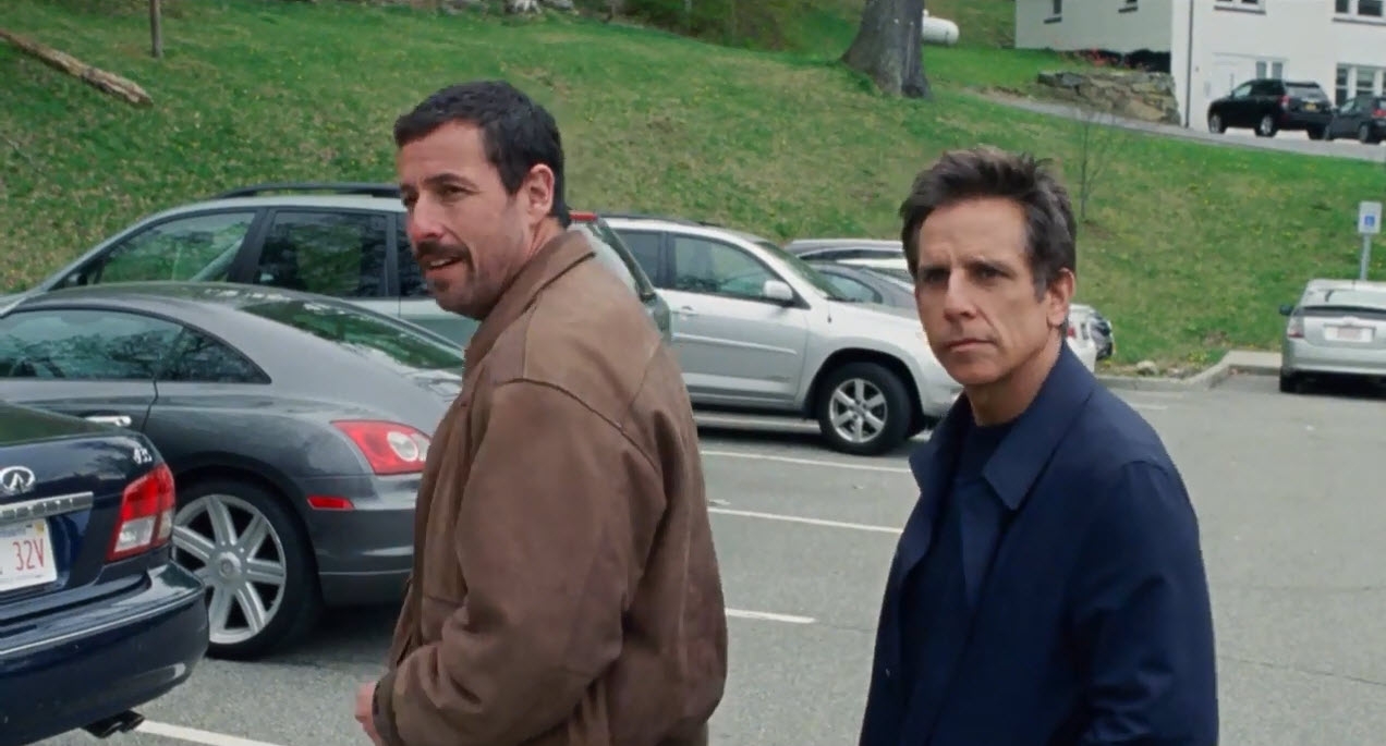 ben stiller and adam sandler in the meyerowitz stories