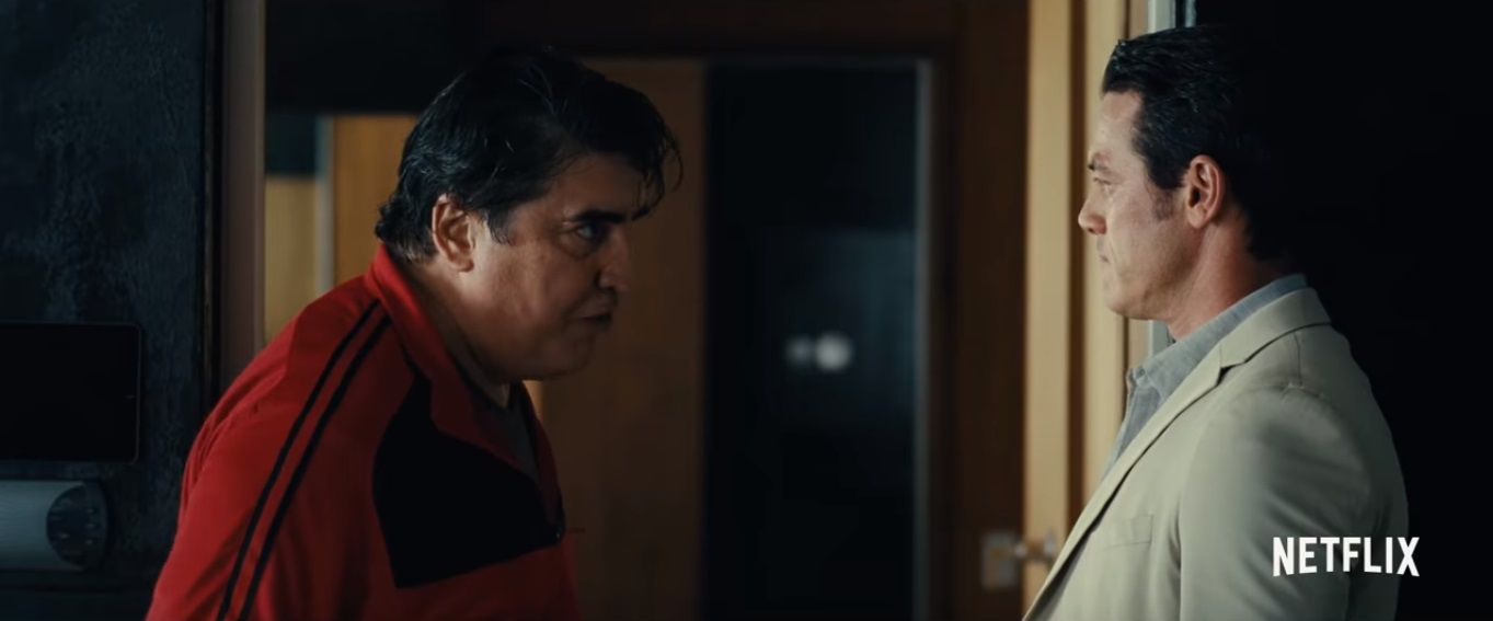alfred molina and luke evans in message from the king